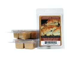 Dolky s brusnicami 62 g - Vonný vosk do aromalampy - Orange Glazed Cranberry Scones - Cheerful Candle Fragrance Melts